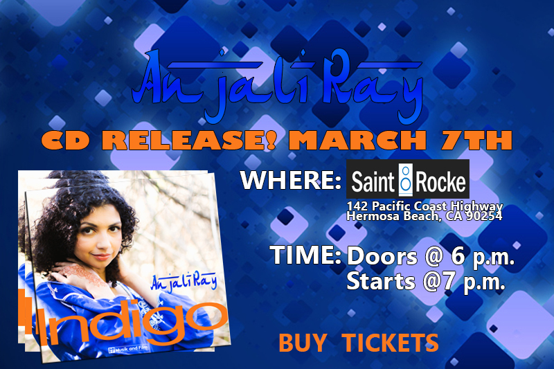 Anjali Ray at st rocke