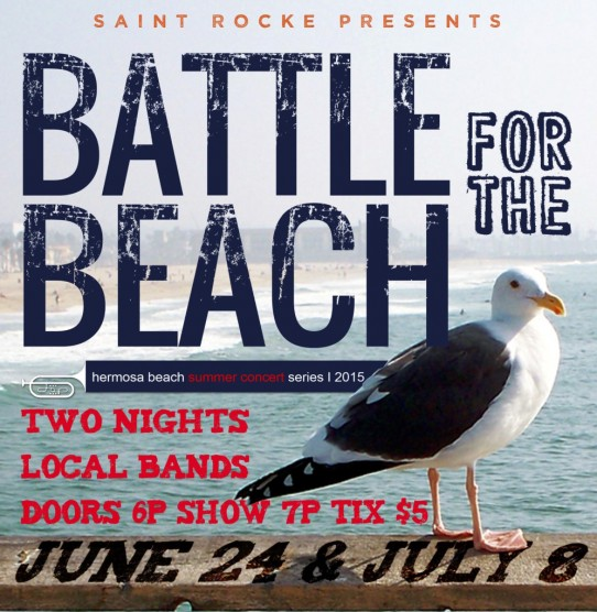 Live at St. Rocke – July 8th – Battle for the Beach!