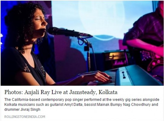 India Tour Articles Published in Rolling Stone and Weekly Voice
